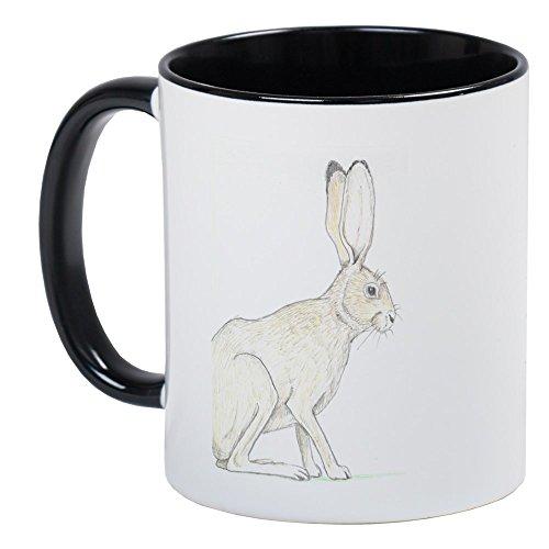 CafePress - Black-Tailed Jackrabbit Mug - Unique Coffee Mug, Coffee Cup Black Tailed Jack Rabbit