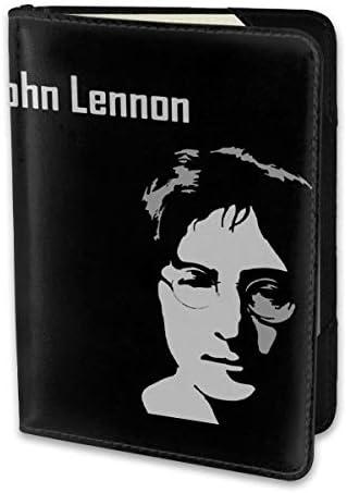 ジョン・ウィンストン・レノン John Winston Lennon パスポートケース パスポートカバー メンズ レディース パスポートバッグ ポーチ 携帯便利 シンプル 収納カバー PUレザー収納抜群 携帯便利 海外旅行 出張 小型 軽便