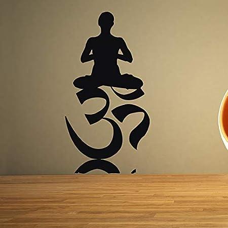 hllhpc Buda OM Cita Namaste Tatuajes de Pared Mandala de Yoga ...