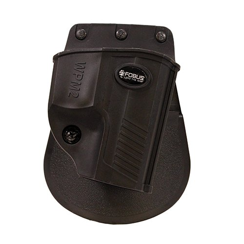 Fobus WPM2 Evolution Holster, Walther 9mm, Paddle, Right Hand, Black, Pps Men's 2 ()