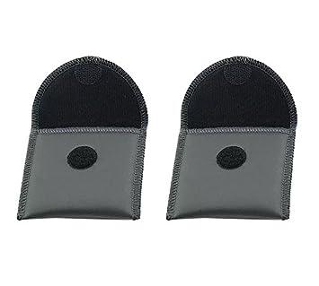 4c6232b28c01 Carejoy 補聴器・保護バッグ 補聴器用便利ケース 携帯ケース 補聴器ポーチブラック
