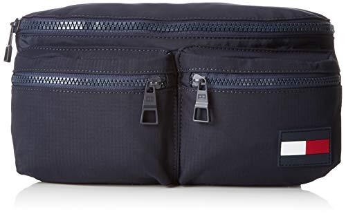 Tommy Hilfiger Crossbody Sports Tape, Men's Top-Handle Bag, Blue (Tommy Navy), 10x14x31 cm (B x H T)