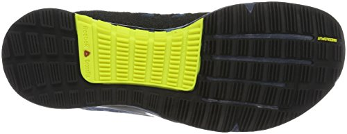 Reebok Crossfit Nano 6.0, Zapatillas Deportivas Para Interior Para Hombre Azul (BD1165_39EU_ColNvy/RylSlate/HeroYlw/Bk)