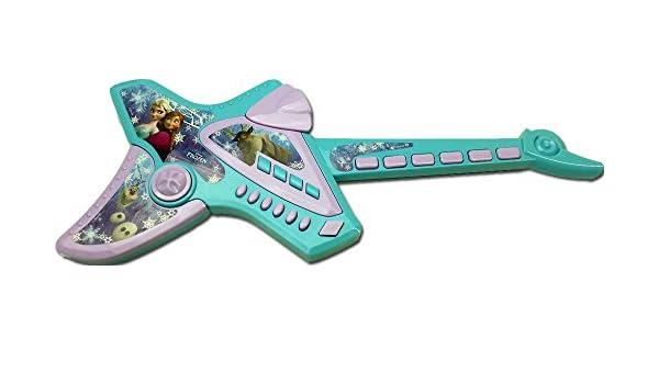 Disney Frozen Brigamo 12733 - Guitarra infantil (eléctrica, con sonido electrónico): Amazon.es: Juguetes y juegos