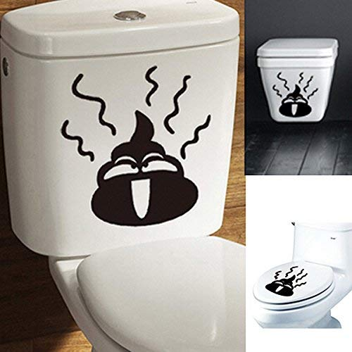 Bumatech Bathroom Decor - Bathroom Decoration - Toilet Stickers Sticker Funny For Boys Wall Decor Halloween Put Me Down Plunger Wc Door Decoration Dog Cat Decal Seat Cover Bathroom]()