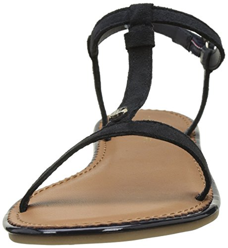 Tommy Sandals Midnight Hilfiger 25b Heels Women's Wedge 403 Blue J1285ennifer qRrqwO