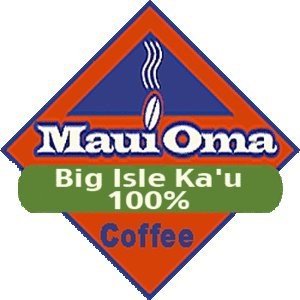 Hawaiian Value Pack Maui Oma Coffee 3 Bags 1 lb. each Bean 100% Big Island Kau