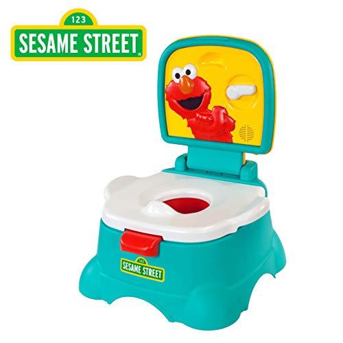 Sesame Street Elmo Hooray! 3-in-1 Potty, Blue