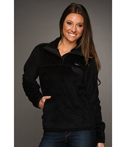 Patagonia Re-Tool Snap-T Pullover, Black, MD (Women's 8-10)