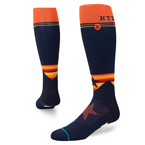 - Stance M75917BDAS Men's Diamond Pro Astros OTC Sock, Navy - Large (9-12)