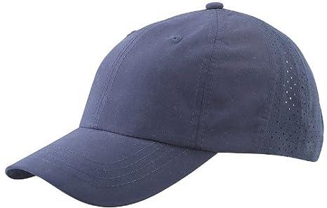 Myrtle Beach Laser Cut (MB 6538) - Gorra deportiva con visera azul ...