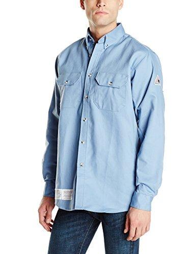 Bulwark FR Men's 7 oz. Dress Uniform Shirt - CAT 2 - SLU2