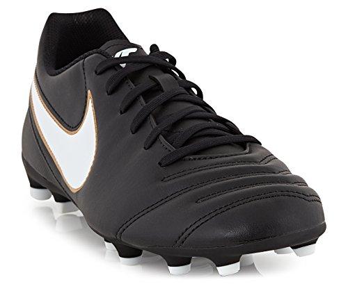 Tiempo Rio III FG Football Boots - Black