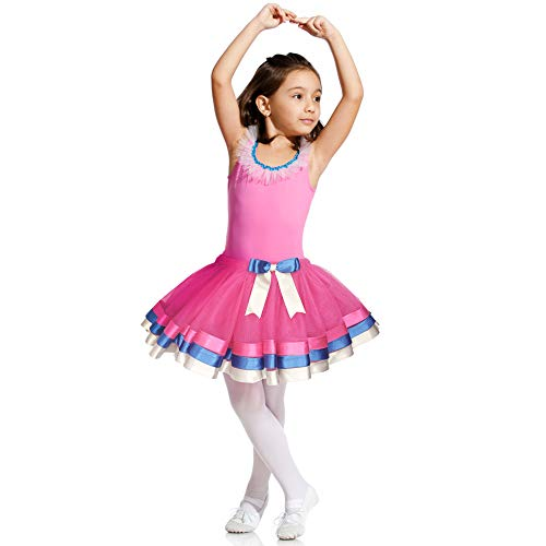 KPOBLI Tutus for Girls - Princess Skirt, Ballet Dance and Halloween Costumes, Gifts for Christmas Birthday Party -