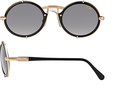 f202c5816d7 CAZAL VINTAGE 644 Sunglasses black and gold  Amazon.co.uk  Clothing