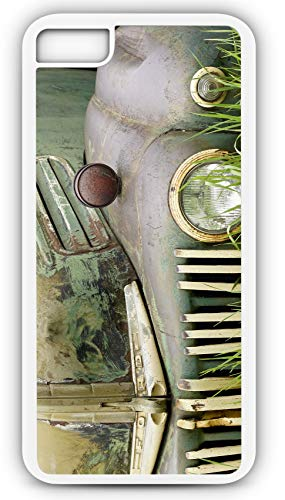 iPhone 6s Case Antique Ford Pick Up Truck Vintage Photo Customizable by TYD Designs in White Rubber