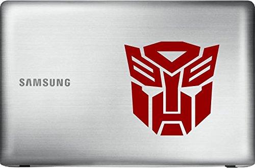 Laptop Autobot - Autobot Transformer (Red 5
