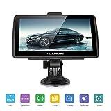 FLOUREON 7 inch Capacitive LCD Touch Screen Truck&Car GPS Navigation SAT Nav Navigator