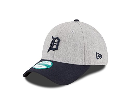 New Era MLB Detroit Tigers The League Heather 9Forty Adjustable Cap, One Size, Heather