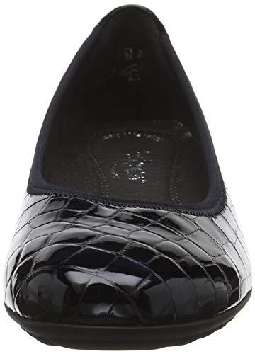 Azul Shoes Ocean 86 Sport para Bailarinas Comfort Gabor Mujer p7qwYaa