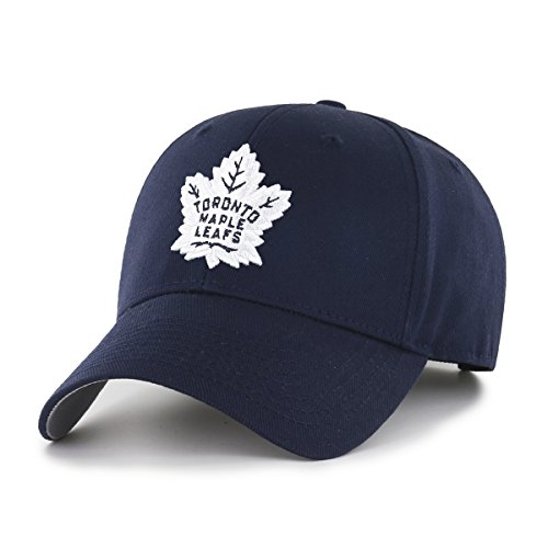 Maple Leafs Hats (NHL Toronto Maple Leafs OTS All-Star Adjustable Hat, Navy, One Size)