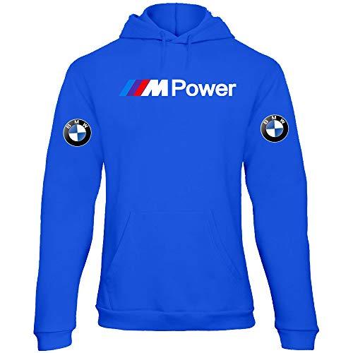 Bmw Sweat Rdc16 Capuche Sweat Femme Rally Motorrad shirt Mpower A Bleu Racing w1txtX
