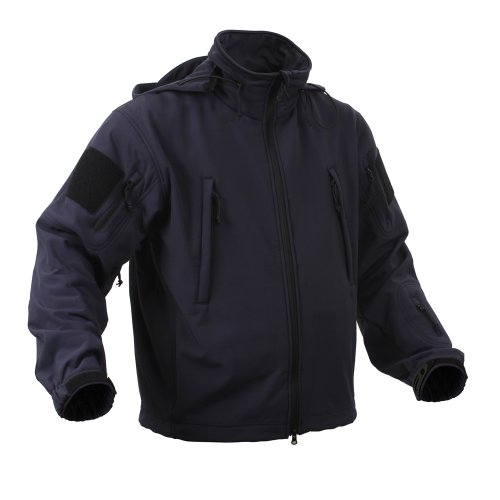 Rothco Special Ops Midnight Blue Tactical Softshell Jacket - Size XL (Nylon Scout Jacket)
