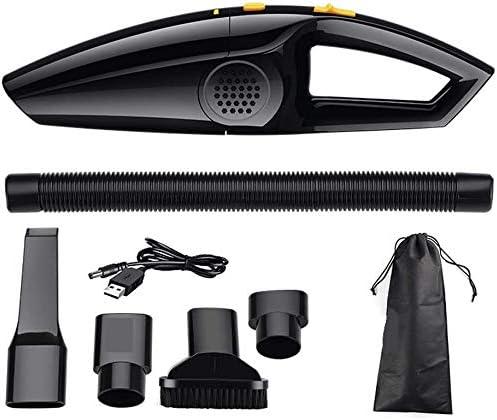 Portátil, de mano aspiradoras inalámbricas, Aspiradora sin hilos del coche 120W de mano portátil limpiador de vacío de alta USBCharging Potente húmedo/seco de doble uso, for el hogar, animales de co