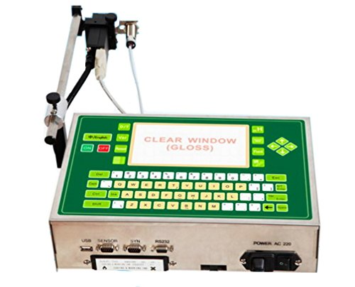 Industrial Date Printing Machine Code Inkjet Printer 110v or 220v