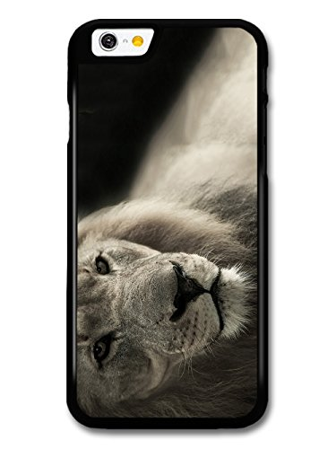 Cool Cute Lion Photography Wild Animal Nature in Black and White case for iPhone 6 6S