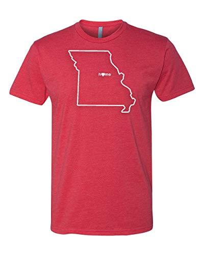 Mens Missouri Home Stadium Shirt (M, M, Red) - STL Cardinals Colors