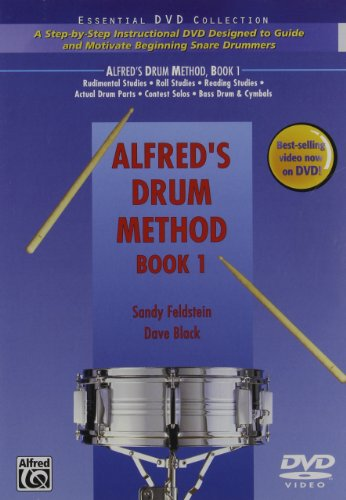 Alfred's Drum Method, Bk 1: A Step-by-Step Instructional DVD Designed to Guide and Motivate Beginning Snare Drummers (DVD) (1 Video Method)