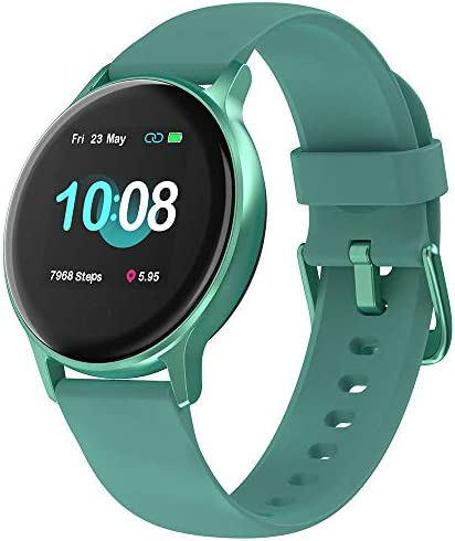 """UMIDIGI Smart Watch for Android Phones Compatible with iPhone Samsung, Fitness Tracker with Heart Rate Monitor, 5ATM Waterproof Watch for Women Men, 1.3"""" Touch Screen and Personalized Watch Faces 1"""