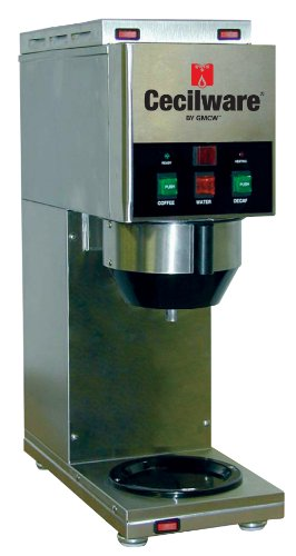 Grindmaster-Cecilware Java 2 QB-D W/1 Dispense Head Decanter/Cup Soluble Coffee Dispenser, 2-Hopper
