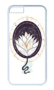 Apple Iphone 6 Case,WENJORS Awesome Lotus Hard Case Protective Shell Cell Phone Cover For Apple Iphone 6 (4.7 Inch) - PC White by icecream design