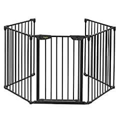 This fence will allow you to keep you entire fireplace, grill or stove area safe from children. It surrounds and provides maximum safety for use around fireplaces and wood burning stoves of any shape or size. It can be installed in areas that...