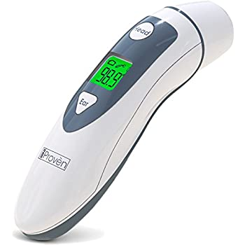 Medical Ear Thermometer with Forehead Function - iProven DMT-489 - Upgraded Infrared Lens Technology for Better Accuracy new