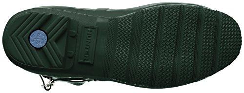 Hunter Damen Low Wellington Boots Gummistiefel Grün (Green Hgr)