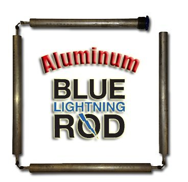"Blue Lightning Aluminum / Zinc Flexible Anode Rod, Hex Plug, 42"""