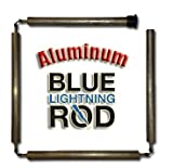 Blue Lightning Aluminum / Zinc Flexible Anode Rod, Hex Plug, 42''