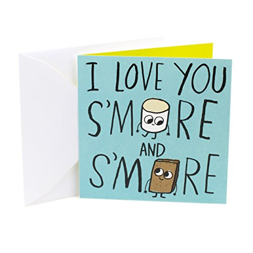 Hallmark Studio Ink Anniversary Greeting Card (S'more Love)