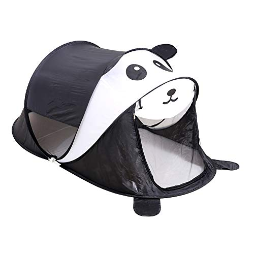 (Kids Tent, Kids Pop-Up Tent, Kids Outdoor Tents in The Shape of Pandas, 75in x 35in (DxH) (Panda))