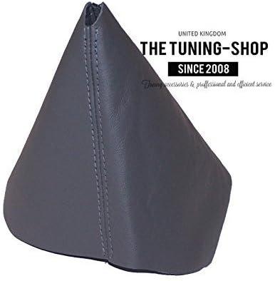 2011/Gris en cuir Gear Gu/être couture gris Pour Volkswagen New Beetle 1997