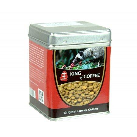 King of Coffee Wild Kopi Luwak Coffee 100g (Best Coffee Cat Poop)