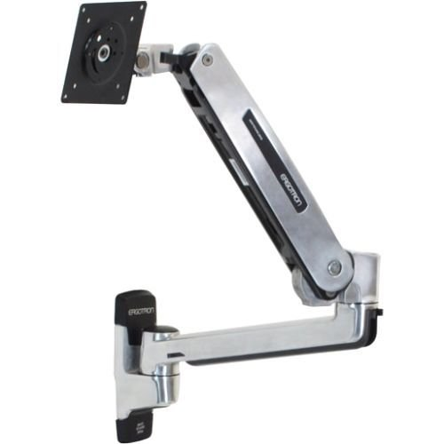 Ergotron LX Sit-Stand Wall Mount LCD Arm - Mounting Kit (Best Lcd Monitor Manufacturer)