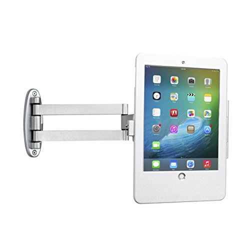 - CTA Digital PAD-AWSEA Articulating Wall Mounting Security Enclosure for iPad Air/iPad Pro 9.7/iPad (Gen. 5-6) Silver