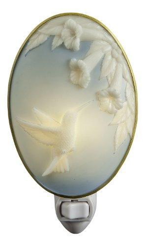 Hummingbird CAMEO Trumpet Vine Night Light - Ibis & Orchid Designs Night Light Collection - Cameo Vines