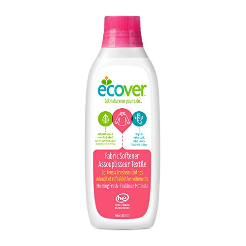 Ecover Natural Laundry (Ecover Fabric Softener Liquid, Morning Fresh, 32 Ounce)