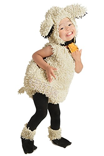 [Princess Paradise Baby's Lovely Lamb Deluxe Costume, As Shown, 3T-4T] (Different Princess Costumes)