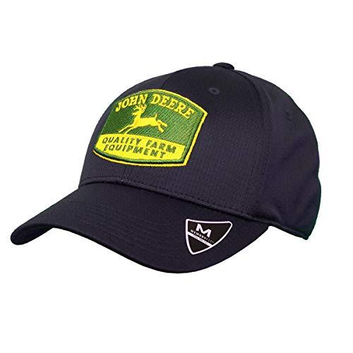 - John Deere Memory Fit - Vintage Cap-Navy-Os